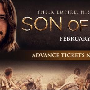 Son of God Movie TicketGiveaway!